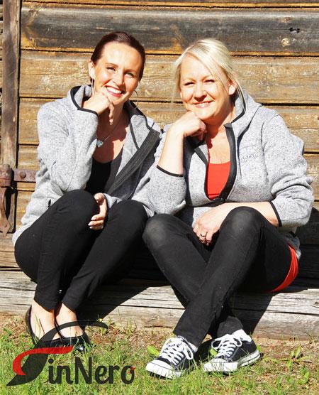 Finnero Oy Ltd:n omistajat Tarja Keen ja Tuula Pekkala