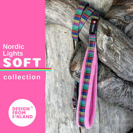 Nordic Lights Soft pinkki talutin