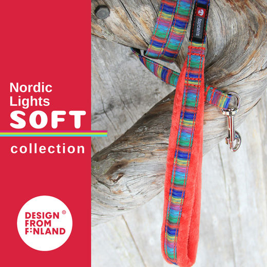 Nordic Lights Soft talutin punaisena