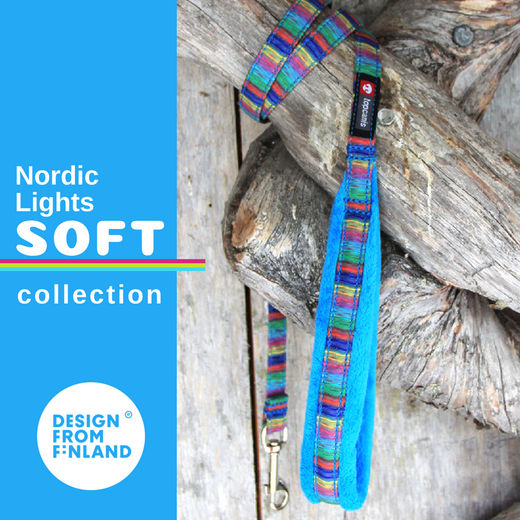Nordic Lights Soft talutin turkoosina