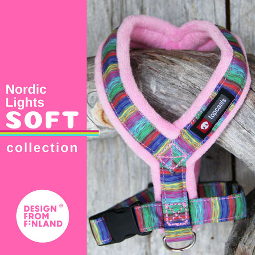 Nordic Lights Soft valjaat pinkkinä