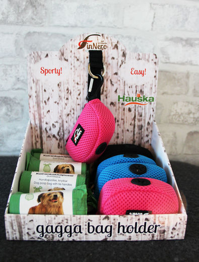 Display gagga bag holderille